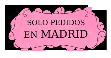 Entrega de Tartas fondant en Madrid, Majadahonda, Pozuelo, Las Rozas